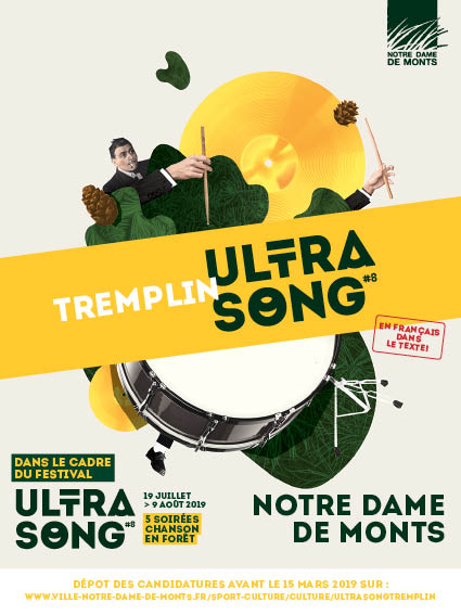 Recto Flyer Tremplin Ultrasong